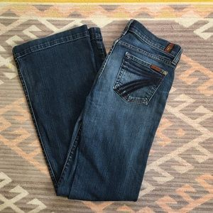 7 for All Mankind • Dojos Flare Leg Jeans